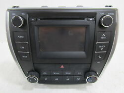 2016 2017 Toyota Camry AM FM CD Player w Display Screen & Climate Control OEM
