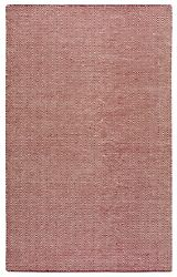 Twist Soft New Zealand Wool Area Rug 9 X 12and039burgundy Red Off White Chevron/solid