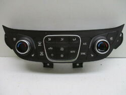 18 2018 Chevy Equinox Auto Dual Zone Climate AC Control w Heated Seats OEM LKQ