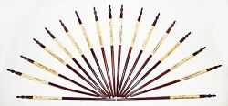 Lot Of 17 Wooden Traditional Chinese Chopsticks Handpainted With Bonus