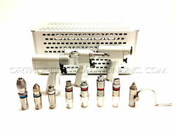 Stryker System 4 Set With 4108 4106 4103 Handpieces & Attachments *Warranty*
