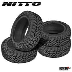 4 X New Nitto Trail Grappler M/t 295/55r20 123/120q Off-road Traction Tire