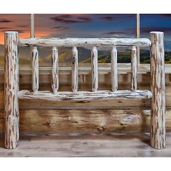 Rustic Log Headboards Lodge Cabin Head Boards Amish Made Furniture Beds