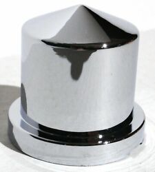 Nut Covers10 15/16 Round Pointed Chrome Plastic 1-1/2 Tall Peterbilt Kw Fl