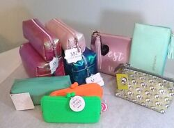 Cosmetic Purse Bag Change Purse Make Up Zippered Case Pouch YOU CHOOSE most NWT $8.95
