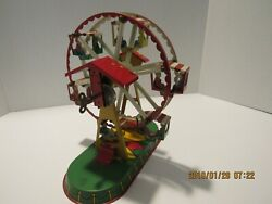 Tin Toy Windup Ferris Wheel Made In Germany