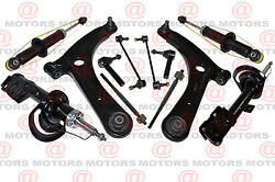 For Dodge Caliber 2007 To 2012 Front Outer Tie Rod Ends Lower Control Arm Struts