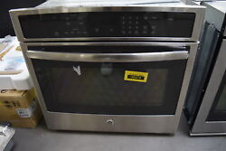 Ge Profile Pt7050sfss 30 Stainless Single Electric Wall Oven Nob 33450 Hrt