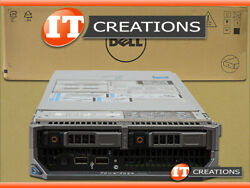 DELL POWEREDGE M620 BLADE TWO E5-2630LV2 2.40GHZ 384GB 2 X 600GB SSD H710P