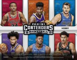2018 19 Panini Contenders Basketball Base You Pick 1-100 Curry Harden Kyrie +++