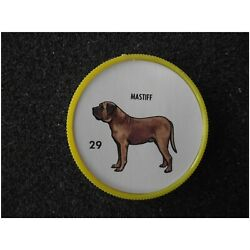 Humpty Dumpty Potato Chips Dog Coin # 29 Mastiff