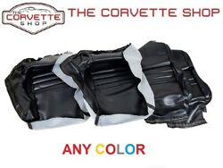 C3 Corvette Leather Like Seat Covers 1979-82 And 1978 Pace Car Any Color 4216-7xx