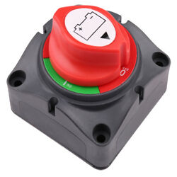 Battery Switch Power Cut On/off Master Disconnect Isolator Car Vehicle Rv Boat