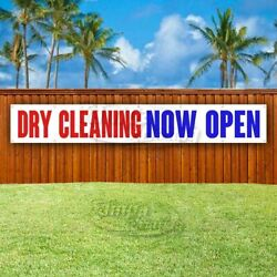 Dry Cleaning Now Open Advertising Vinyl Banner Flag Sign Large Huge Xxl Size