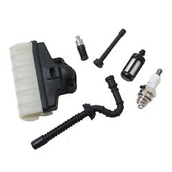 Fuel Oil Line Filter Air Filter For Stihl 021 023 025 Ms210 Ms230 Ms250 New