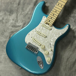 Fender American Elite Stratocaster Ocean Turquoise 2017 Electric Guitar (Used)