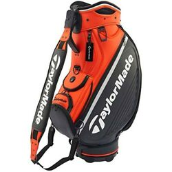 2019 NEW Taylor Made Caddy bag GLOBAL TOUR STAFF ANW37 Orange from japan