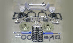 1940-46 Chevy Truck Mustang Ii Complete Front Suspension Power Rack Stock Height
