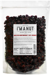 Dried Cherries 4 LB =64oz Resealable Bag Tart Sour Montmorency Variety -