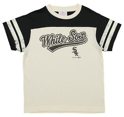 OuterStuff MLB Youth Chicago White Sox Short Sleeve Vintage Tee White $9.99