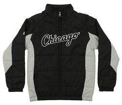 Majestic MLB Youth Chicago White Sox Double Climate Full Zip Jacket $36.99