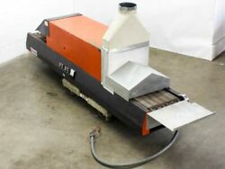 Glo-Quartz TR91-12A Infrared Tabletop Belt Furnace w 12
