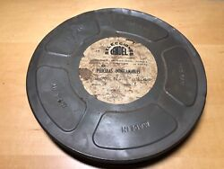 Very Rare Antique Ribbon Trailer Movie Gone With The West Box Gone - Kodak