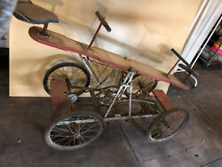 Antique Circus Canival Clown Bike Cycle Seesaw Teeter Bicycle