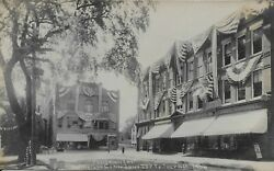 Centennial And Old Home Week Rockville Ct Real Photo Rppc 1908 By Quimby