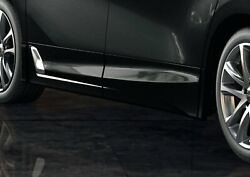 Trd Side Skirts And Black 202 For Alphard 3 Aero Ms344-58007-c0