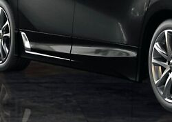 Trd Side Skirts And Black 202 For Alphard 3 Aero Ms344-58005-c0