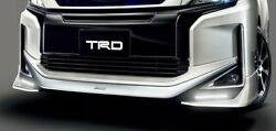 Trd Front Spoiler With Led Blackish Ageha 221 For Voxy 8 V X Ms341-28044-c1