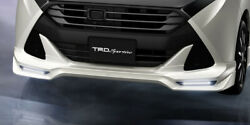 Trd Front Spoiler W Led Pearl White W24 For Tank 9 Ms341-b1012-a0