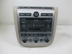 2006 Nissan Murano BOSE 6 CD Cassette Player Radio w AC Controls OEM