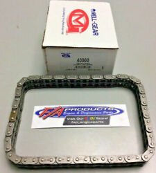 Small Block Chevy Race .250 Roller 58 Link Timing Chain Rolon / Melling 40000