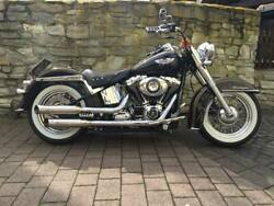 Kern Rock Exhaust for Harley-Davidson Softail models e.g Deluxe from 2007