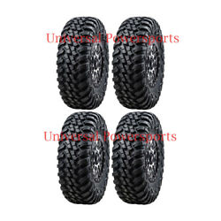 Tusk Terrabite / Wasatch Wheel + Tire Kit With Lug Nuts 32x10-15 Rzr Xp 1000