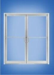 Aluminum Storefront Door And Frameclear Anodized Finish For Ebay Member Hobs18