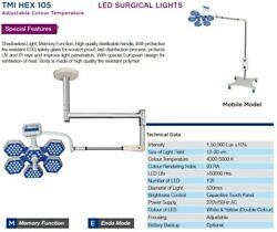 Operating Light Exam OT LED Lamp LIGHT Surgical operation theater Lamp Dual Colo