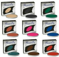 Mehron Paradise Makeup AQ Refills_FaceBody Paint_Colors Cake Makeup_  7gm_Pick1
