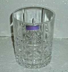 Waterford Marquis Brady Double Old Fashion Glass NEW With Tag Single Glass Only $14.00
