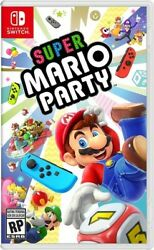 Super Mario Party for Nintendo Switch New Video Game $55.50