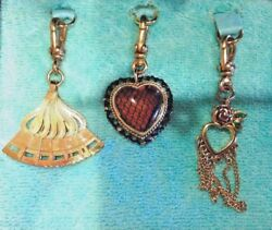 Rare 2005 Juicy Couture Charms Set-retired Charms