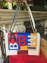 NEW CAROLINA HERRERA LIMITED EDITION BIMBA SHOULDER HANDBAG RARE $750.00