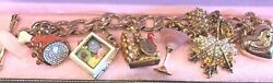 Juicy Couture Thanksgiving Charm Bracelets With 5 Retired Charms