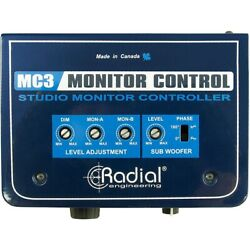 Radial Engineering MC3 Passive Studio Monitor Control LN