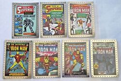 2010 Upper Deck Iron Man 2 The Movie Comic Covers Embossed Insert Card You Pick