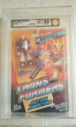 Transformers Action Masters Skyfall Hasbro 1990 Afa 90+ 90/90/90