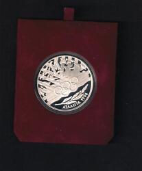 Cyprus Chypre Zypern 1996 Atlanta Olympics Proof Coin With Coa And Official Case
