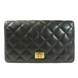 CHANEL   Long wallet (with Coin Pocket) 2.55 Hardware design Lambskin